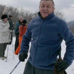 Гвардия рыбацкого спорта главный инженер ОАО «Дальрыба» Владимир БУДЬКО на финише
