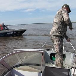 Китай и Россия оценили соблюдение правил лова на Амуре. Фото пресс-службы Амурского теруправления Росрыболовства