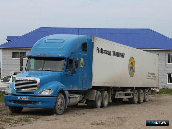 Продукция ООО «Акватехнологии» доставляется рефрижераторными автомобилями грузоподъемностью 15 и 30 тонн