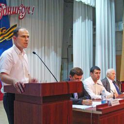 Рыбоводы на семинаре-совещании в Темрюкском районе Краснодарского края