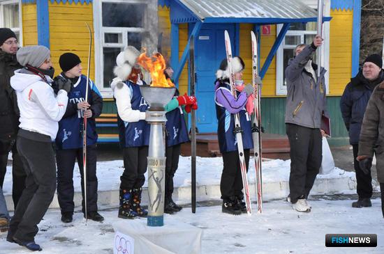 Огонь Рыбацкой лыжни-2014 зажжен!