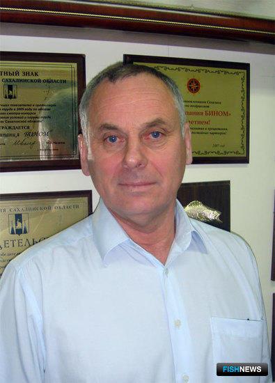 Александр ПОПОВ, президент Ассоциации рыбопромышленников Сахалина