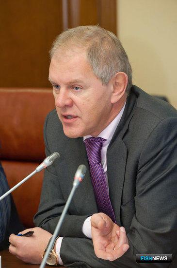 Андрей Крайний, руководитель Федерального агентства по рыболовству