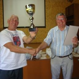 Кубок победителям в общекомандном зачете - спортсменам ОАО ПБТФ