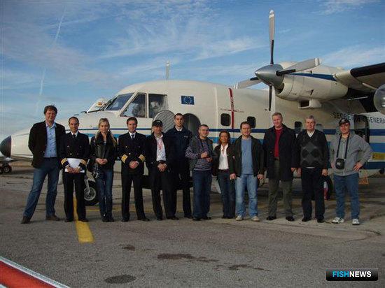 Сотрудники ЦСМС ознакомились с методами мониторинга рыбопромысловых судов Королевства Испания (фото пресс-службы ЦСМС)