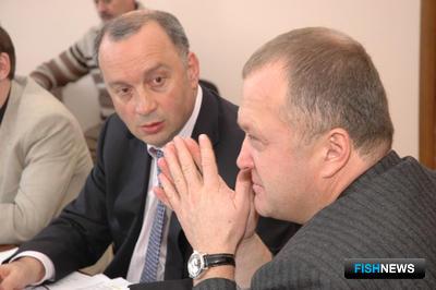 Григорий АБОВСКИЙ и Игорь ЕВТУШОК – руководители Ассоциации добытчиков минтая