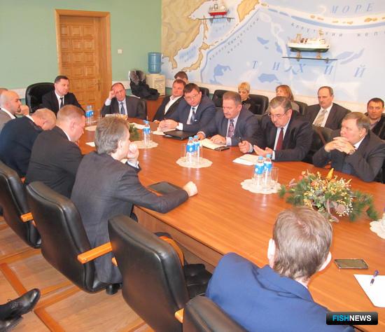 Совещание по кластеру во Владивостоке