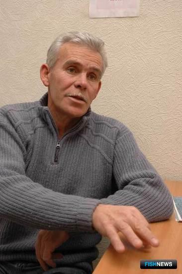 Сергей МЕШКОВ, ведущий рыбовод ППАС