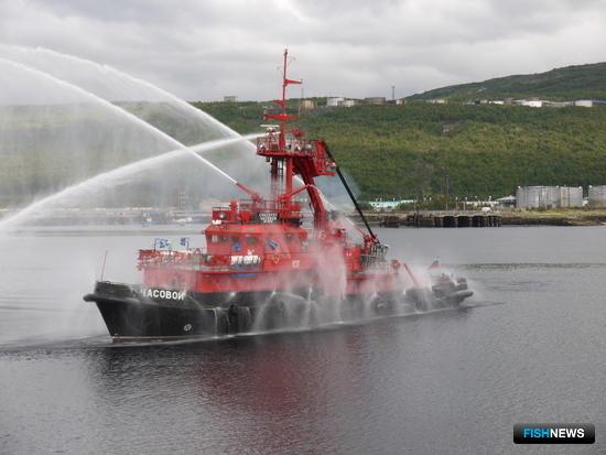 В Баренцевом море состоялись командно-штабные учения «Вихрь-2016». Фото пресс-службы Северного ЭО АСР