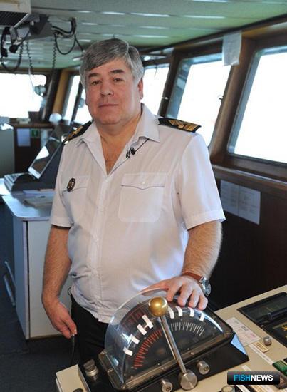 Капитан-директор «Всеволода Сибирцева» Валерий ВОЛОШИН