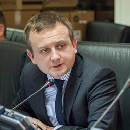 Председатель Союза рыбопромышленников Карелии Илья РАКОВСКИЙ на заседании рабочей группы в Совете Федерации