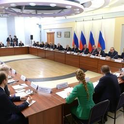 Глава государства Владимир ПУТИН провел в Новосибирске заседание Совета по науке и образованию. Фото пресс-службы президента