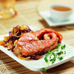 Снизить риск сердечно-сосудистых заболеваний поможет лосось