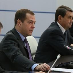 Дмитрий Медведев призвал РЖД к эффективности. Фото пресс-службы правительства РФ