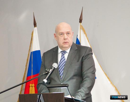 Первый заместитель руководителя департамента береговой охраны погранслужбы Алексей ВОЛЬСКИЙ