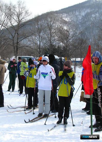 К старту готовятся спортсмены ТИНРО-Центра и ВМРК