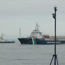 Совместные российско-корейские пограничные учения. Приморский край, залив Петра Великого, август, 2007г.