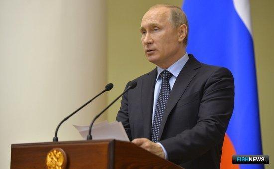 Глава государства Владимир ПУТИН на встрече с членами Совета законодателей. Фото пресс-службы президента РФ