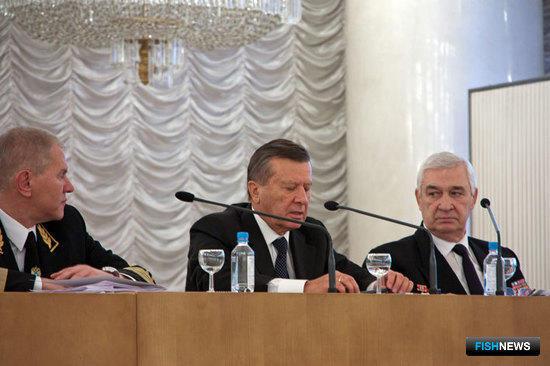 Андрей Крайний, Виктор Зубков и Вячеслав Зиланов