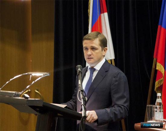 Глава Федерального агентства по рыболовству Илья ШЕСТАКОВ