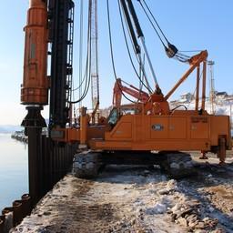 Реконструкция причалов в бухте Моховая. Фото ФГУП «Нацрыбресурс»