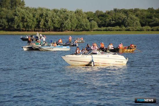 26-27 июля в Астраханской области прошел третий этап фестиваля «Народная рыбалка».