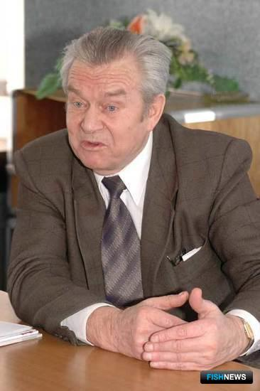 Президент Ассоциации креветколовов Владимир УСС