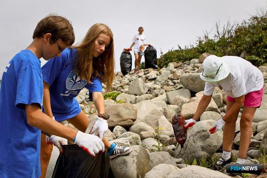 Волонтеры за работой. Фото организаторов ПОВС