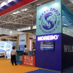 На выставке в Циндао в этом году Группа «Норебо» продемонстрировала азиатскому рынку масштабный ребрендинг