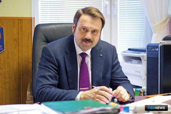 Генеральный директор Бисеровского рыбокомбината Андрей СЕМЕНОВ