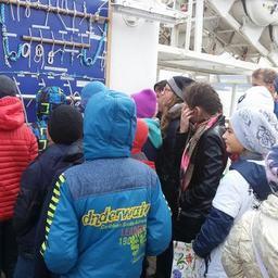 За время стоянки учебного парусника «Паллада» в порту Магадана барк посетило около 8 тыс. человек. Фото пресс-службы Дальрыбвтуза
