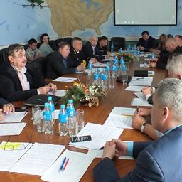 Заседание Общественного экспертного совета Приморского края по рыбному хозяйству, водным биоресурсам и аквакультуре