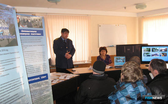 Работа сотрудников ВМРК в районах Приморского края