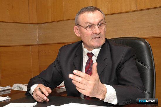 Председатель объединения «Крайрыбакколхозсоюз» Петр Гордиенко
