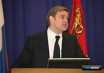 Губернатор Приморского края С.М. Дарькин