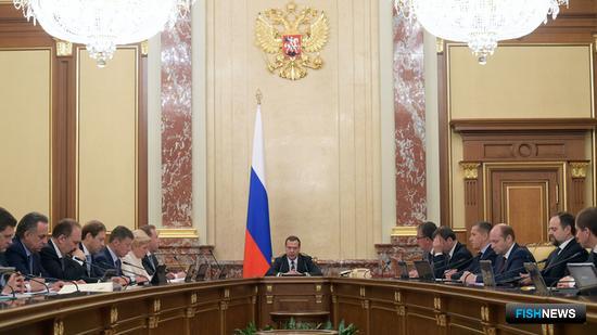 Законопроекты о свободном порте Владивосток рассмотрели на заседании Правительства РФ. Фото пресс-службы кабмина