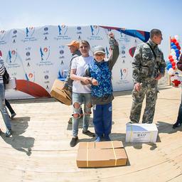 Завершилась акция розыгрышем ценных призов. Фото пресс-службы фонда «Родные острова»