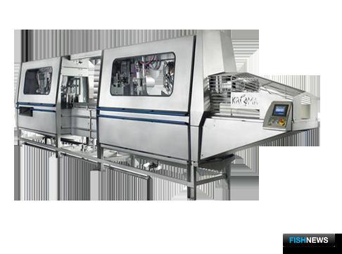 Новая модель GUTMASTER 8000 от компании KROMA A/S идеально подходит для переработки лососевых.