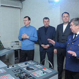 Рыбопромышленики знакомятся с навигационным тренажером ВМРК