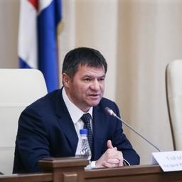 Врио губернатора Приморья Андрей ТАРАСЕНКО. Фото пресс-службы администрации региона
