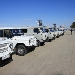 Волго-Каспийское теруправление Росрыболовства получило 5 катеров и 22 «уазика». Фото пресс-службы ФАР