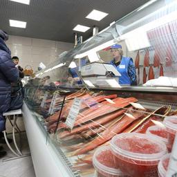 В Камчатском крае создана сеть розничных магазинов, принадлежащих региональным рыбохозяйственным компаниям. Фото пресс-службы правительства региона