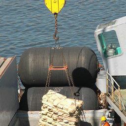 Выгрузка рыбы во Владивостоке