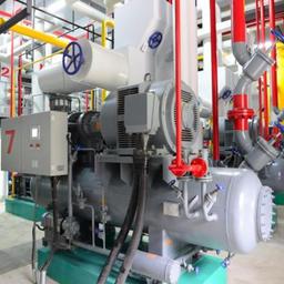 Машинное отделение СО2 каскадной системы
