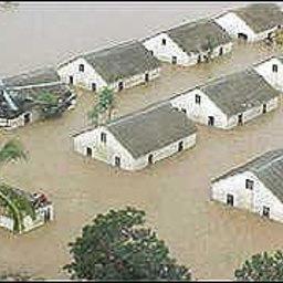 Аквафермам Намибии угрожает наводнение