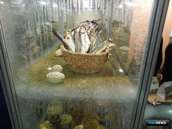 Рыбная продукция товаропроизводителей региона. Фото пресс-службы правительства Камчатки