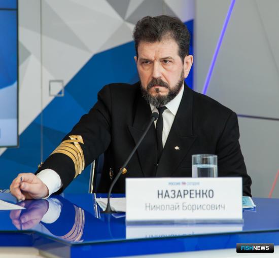 Заместитель директора Архангельского тралового флота Николай НАЗАРЕНКО
