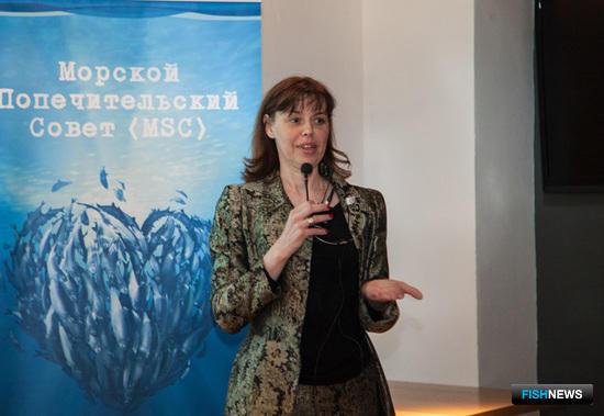 Директор по развитию MSC в России Анисья Шепелева