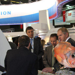 The European Seafood Exposition, Брюссель, апрель 2010 г.