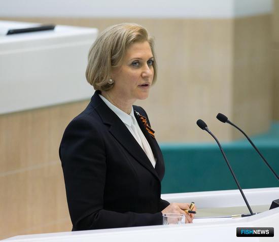 Руководитель Роспотребнадзора Анна ПОПОВА. Фото пресс-службы Совета Федерации